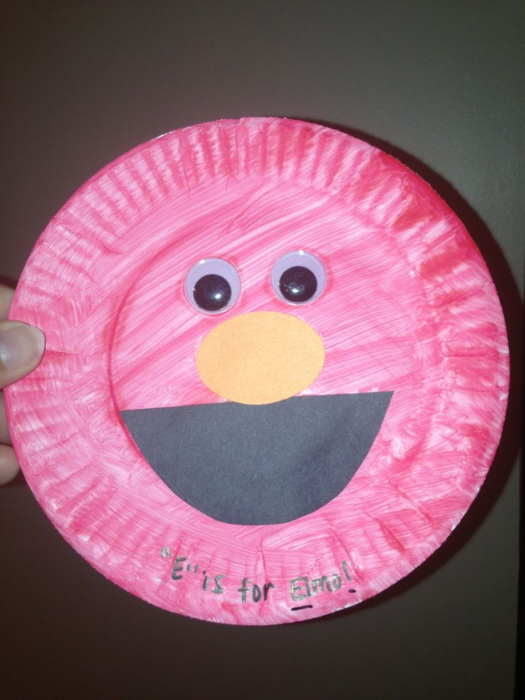 33 best images about crafts made by my students on for Elmo arts and crafts