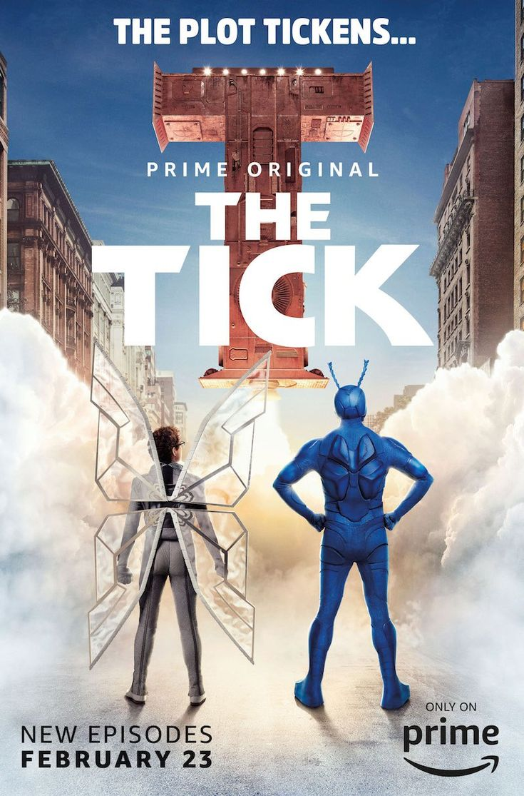 Aaron Neuwrith sat down to talk with the stars of The Tick, Peter Serafinowicz and Griffin Newman, about what it means to play a superhero and all that comes with this journey.