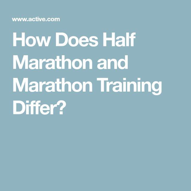 How Does Half Marathon and Marathon Training Differ?