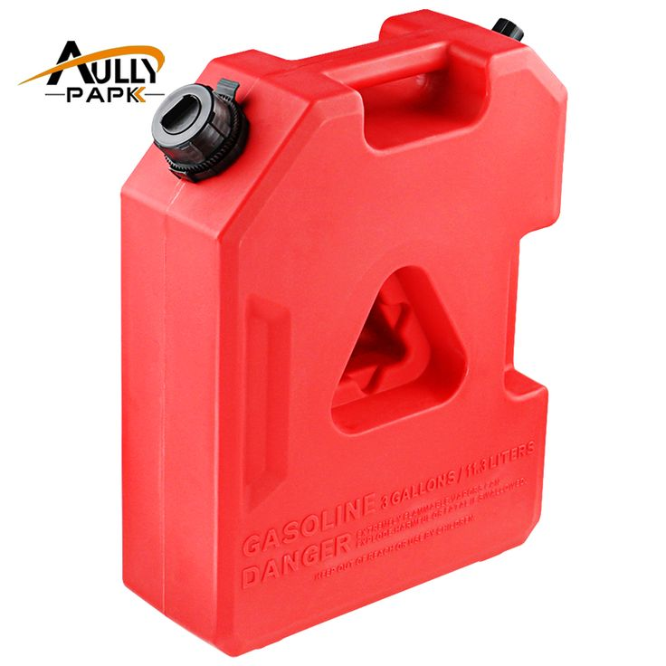 3Gallon Fuel Tank Cans Spare Plastic Petrol Tanks Mount Motorcycle/Car Gas Can Gasoline Oil Container Fuel-jugs Jerrycan #Affiliate