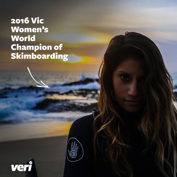 Amber Torrealba was the 2016 Vic Women's World Champion of Skimboarding, but did you know she's also a professional videographer, editor, and marketer of her own content?