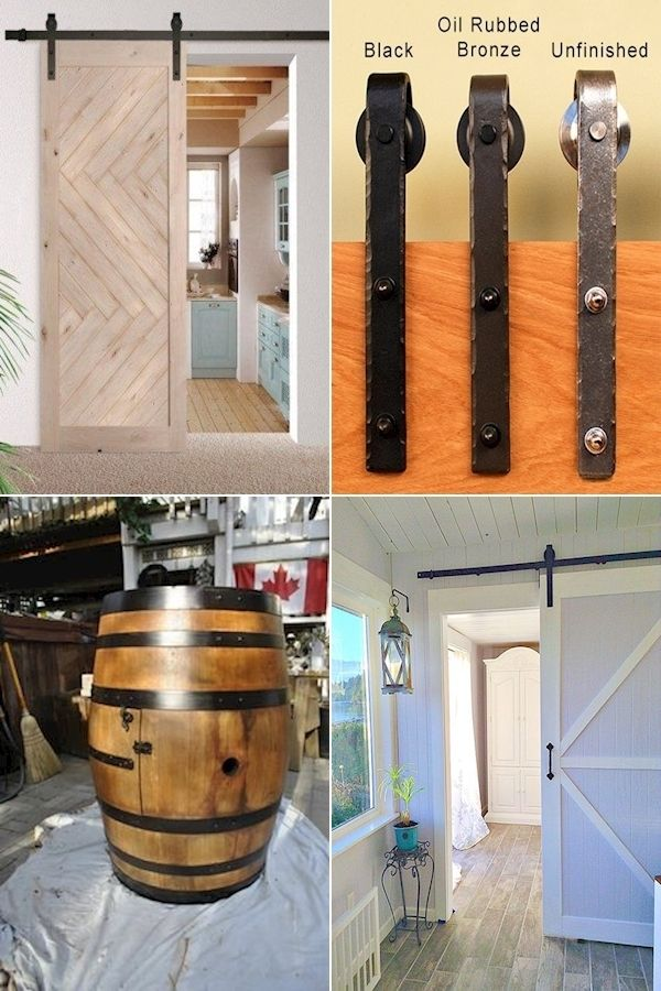 Double Barn Door Hardware Kit Sliding Barn Door Track Hardware
