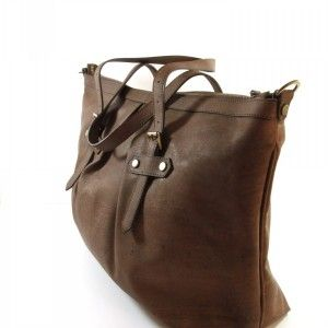 Artelusa Vegan Choc Brown Shopper Tote
