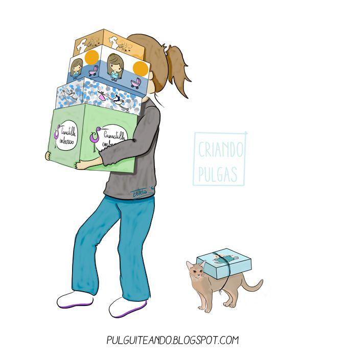 Canastillas gratis para embarazadas  http://pulguiteando.blogspot.com.es/2016/11/canastillas-gratuitas-para-embarazadas.html #maternity #maternidad #ilustración #dibujo #draw #childhood #niños #infancia #maternidadilustrada