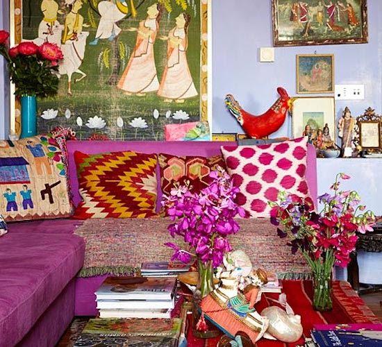 406 best Bohemian Brights images on Pinterest | Bohemian decor ...