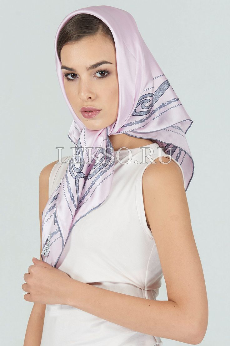 1441 best silk headscarves images on pinterest - Hermes tuch binden ...