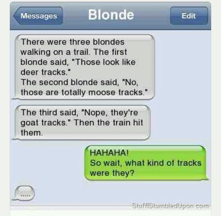 Funny Inappropriate Blonde Jokes