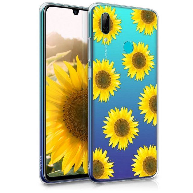 Handyhulle Hulle Fur Huawei P Smart 2019 Tpu Silikon Handy Schutzhulle Cover Case Sonnenblume Handy Schutzhulle Schutzhulle Und Sonnenblumen
