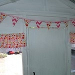 Girls Cubby / Play House Curtain Window Decor - by WhirlyGigKids on madeit
