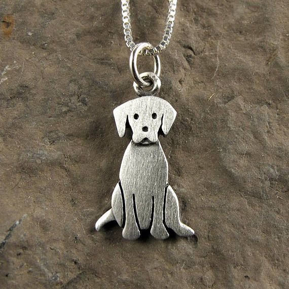 Tiny+Labrador+retriever+necklace+/+pendant