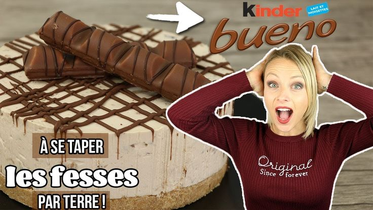 ♡• RECETTE CHEESECAKE KINDER BUENO •♡