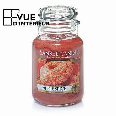 Achat Yankee Candle Jarre Large Apple Spice à petits prix sur vuedinterieur.be.