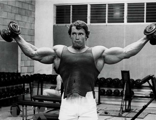 how to get big shoulders and back
