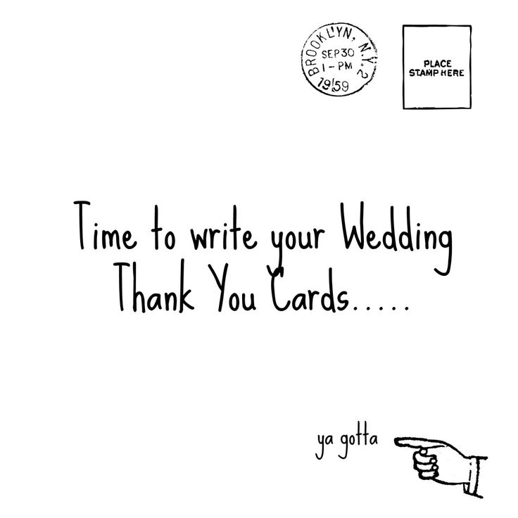 Best Wedding Thank You Card Tips Images On   Wedding