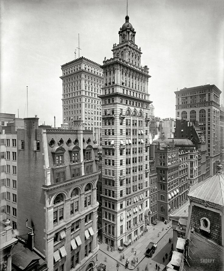 New York City, c, 1900 (via)