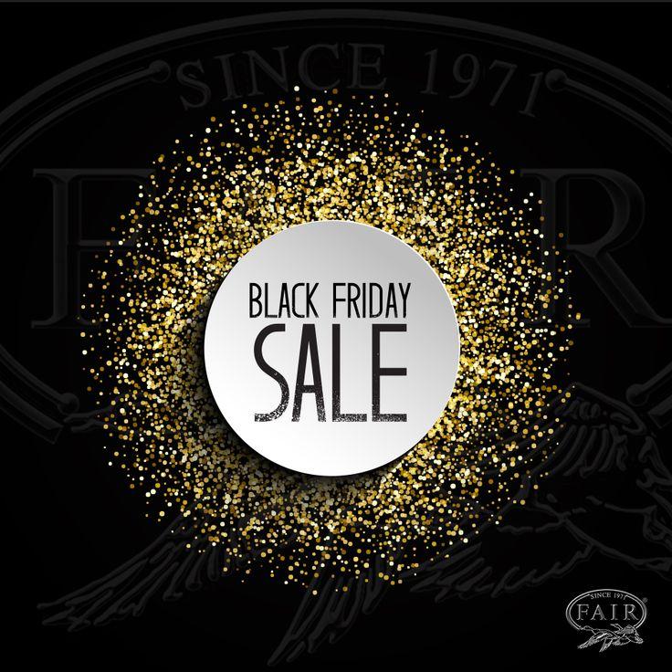 25 Novembre 2016 BLACK FRIDAY EVENT* 40% DI SCONTO SU TUTTO LO STORE! www.fair-store.com * valido da Venerdì 25 (dalle 00,01) a lunedì 28 (alle 23.59) 25 November 2016 THE BLACK FRIDAY EVENT ENDS SOON!* 40% OFF THE ENTIRE STORE! www.fair-store.com * valid from Friday 25 (00,01 italian hours) to Monday 28 (23.59 Italian hours)