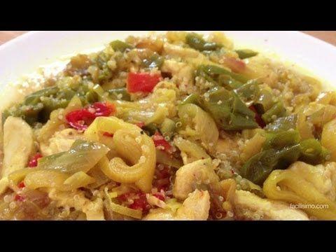 Cómo hacer quinoa con pollo y verduras | facilisimo.com