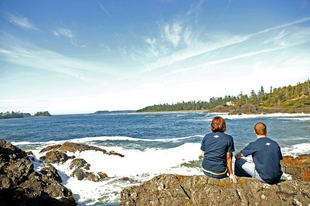Tofino, BC, Canada. Photoshoot for Vancouver Island University