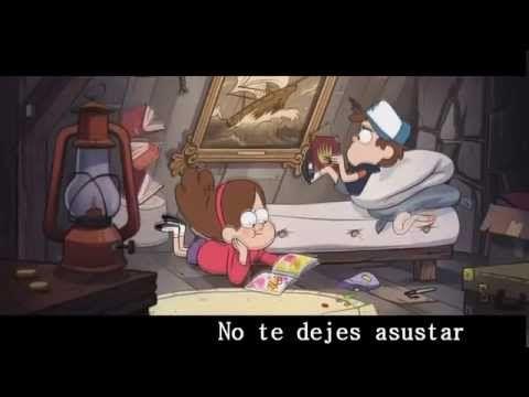 Gravity Falls Opening [ Letra Español Latino ] - Valery - - YouTube
