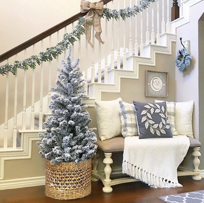 941 best christmas decor images on pinterest merry for Christmas interior house decorations