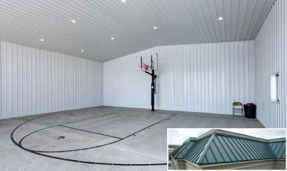 Click Here For Amazing Metal Buildings Home Basketball Court Indoor Basketball Court Basketball Game Tickets