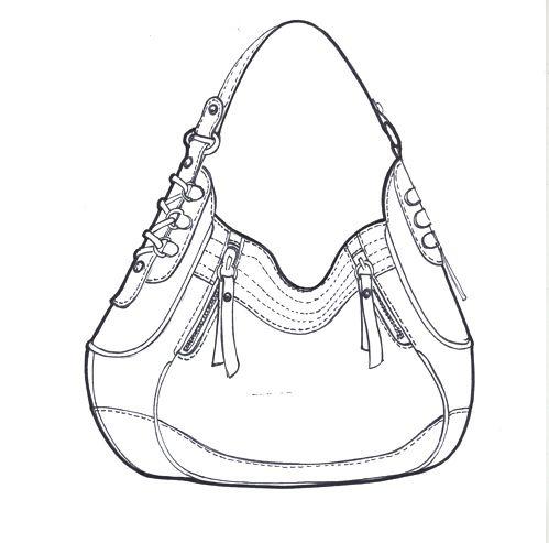 Brilliant Sketches Fashions  Hand Bag Dessign Basics