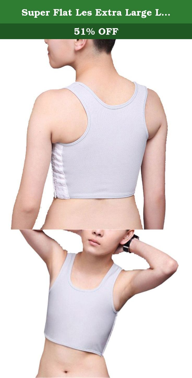 Super Flat Les Extra Large Lesbian Chest Binders Tomboy Compression Short Clasp (S, grey). Size S Chest:28.7-31 inch;Weight:88-104 pound; Size M Chest:31-33 inch;Weight:104-115 pound; Size L Chest: 33-35 inch;Weight:115-132 pound; Size XL Chest: 35-37.8 inch;Weight:132-149 pound; Size XXL Chest: 37.8-40.2 inch;Weight:149-160 pound.