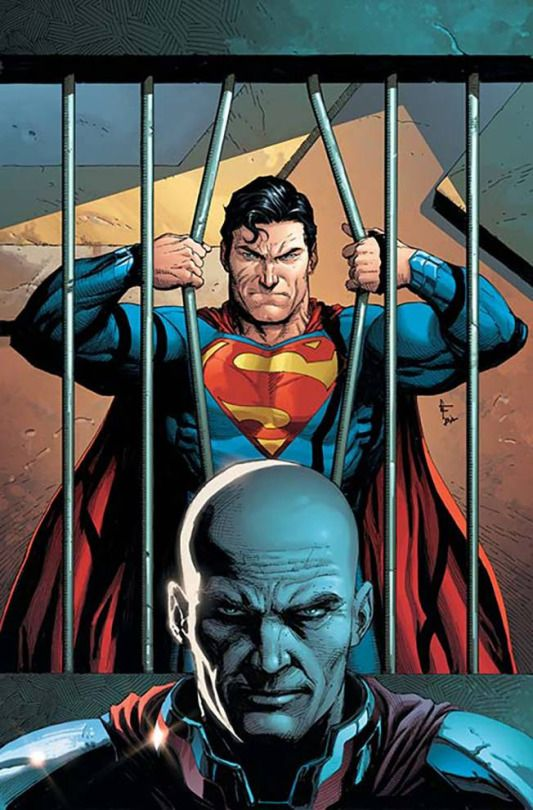 Superman & Lex Luthor by Gary Frank.