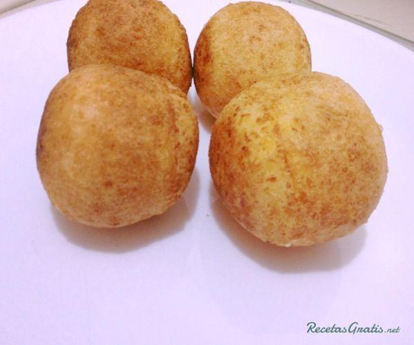 Receta de Buñuelos colombianos de maicena