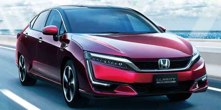 2017 Honda Clarity fuel cell lease price includes $15K of hydrogen fuel #Honda #Clarity #fuelcell #hydrogenfuel #Car
