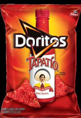 These Tapatio Doritos Are an Insanely Spicy Variation on a Classic #snacks trendhunter.com
