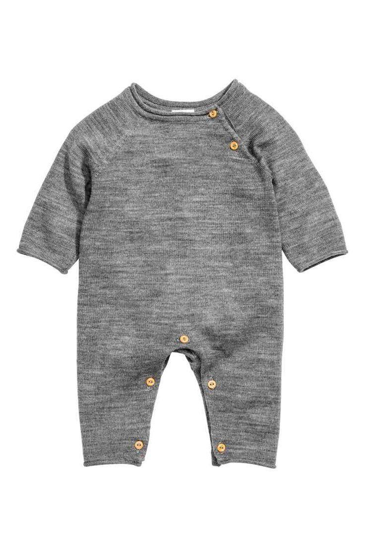 874e1e18256b Soft merino wool romper suit