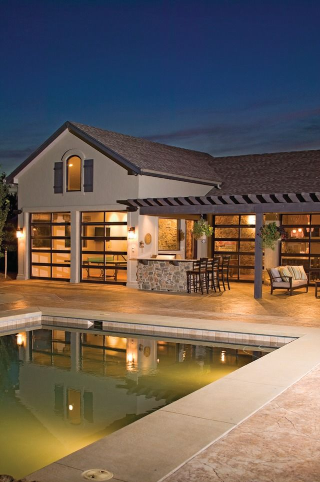 Best 25 martin garage doors ideas on pinterest joe 39 s for Pool house garage