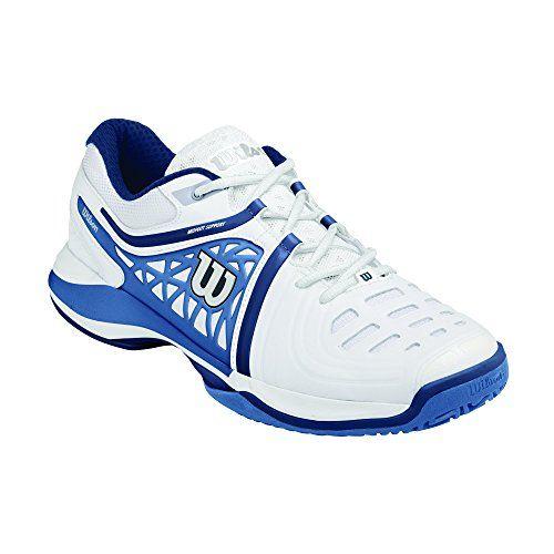 Wilson NVISION ELITE, Herren Tennisschuhe, Mehrfarbig (White/Demin/Marine Navy), 41 EU (7 Herren UK) - http://on-line-kaufen.de/wilson/41-eu-wilson-nvision-elite-herren-tennisschuhe