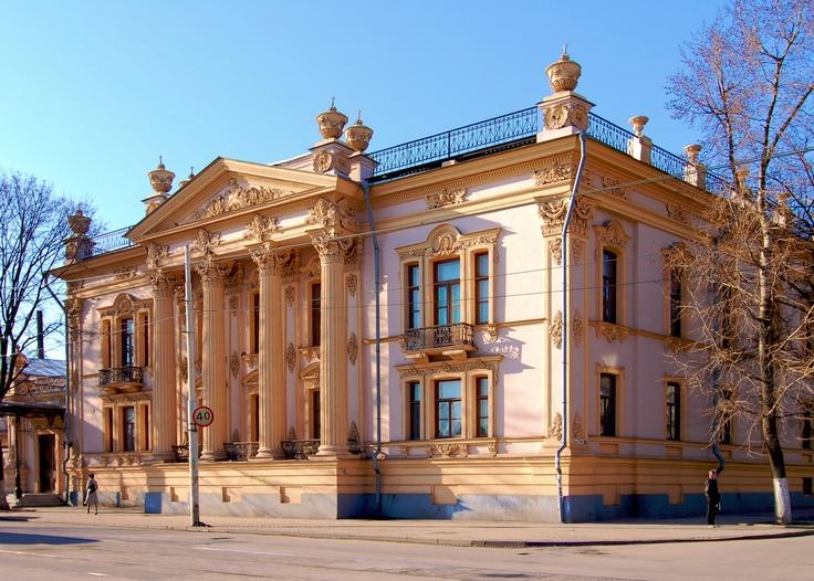 Alferaki Palace in Taganrog, Russia.