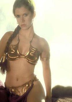 The original Princess Leia slave outfit