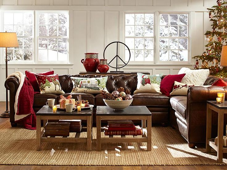 Living Room Decor Red And Brown red sofa decor - creditrestore
