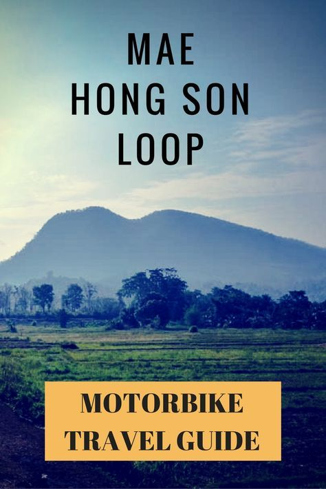 Your guide to motorbike this loop on your own! For those who wish to explore authentic Thai towns, cascading waterfalls, limestone caves and rugged wilderness this is the adventure for you!  #adventure #motorbiking #thailand #maehongsonloop