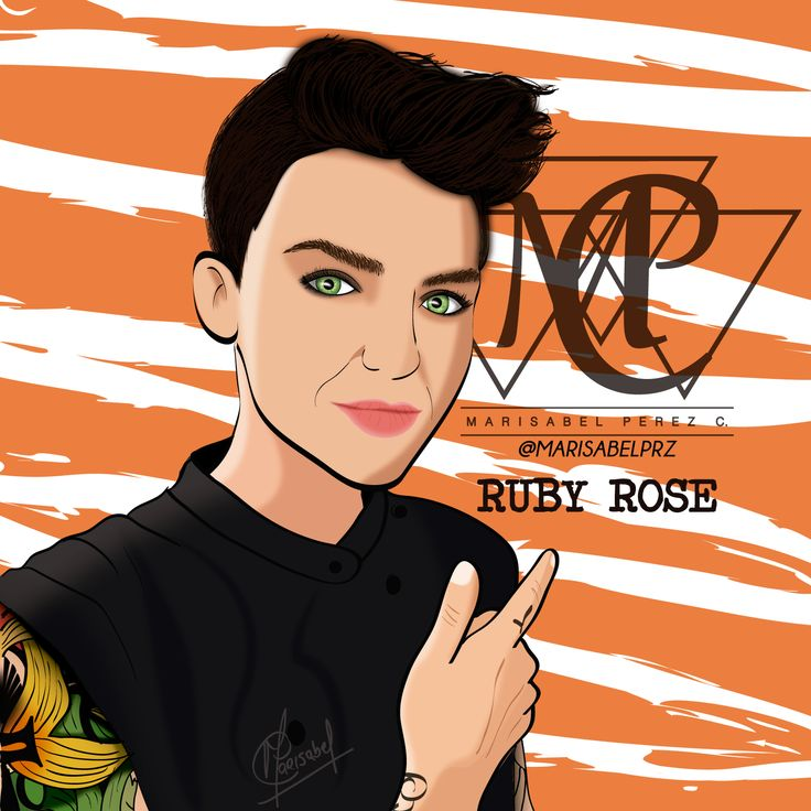 ready!! #AdobeIllustrator #orangeisthenewblack #OITNB #illustration #love #Passion #Vectors #RubyRose