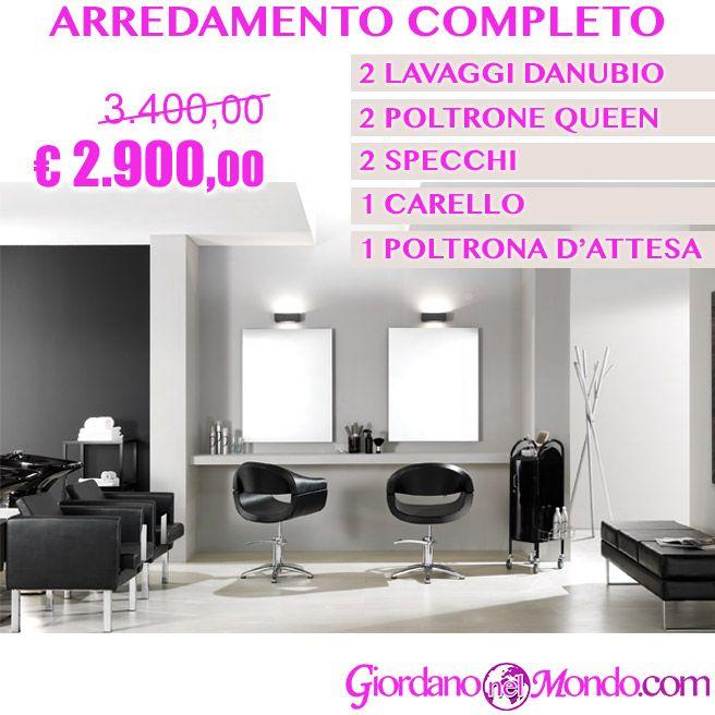 Offerta Per Salone Parrucchiere Arredamento Completo A Soli