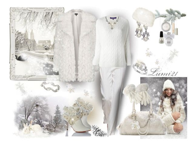 white as snow by lumi-21 on Polyvore featuring Ralph Lauren, Topshop, Oscar de la Renta, Miadora, Betmar, Christian Dior, Ilia, Viktor & Rolf and China Glaze