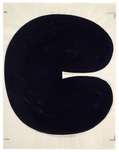 berndwuersching: Ellsworth Kelly Drawing