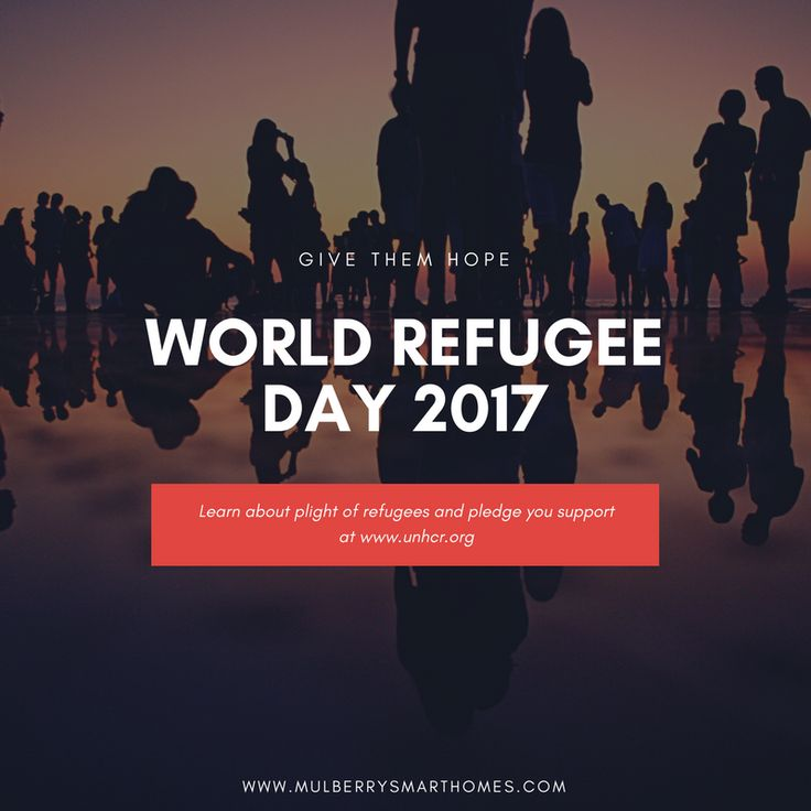 Lend a Hand...Give them Hope! #WorldRefugeeDay