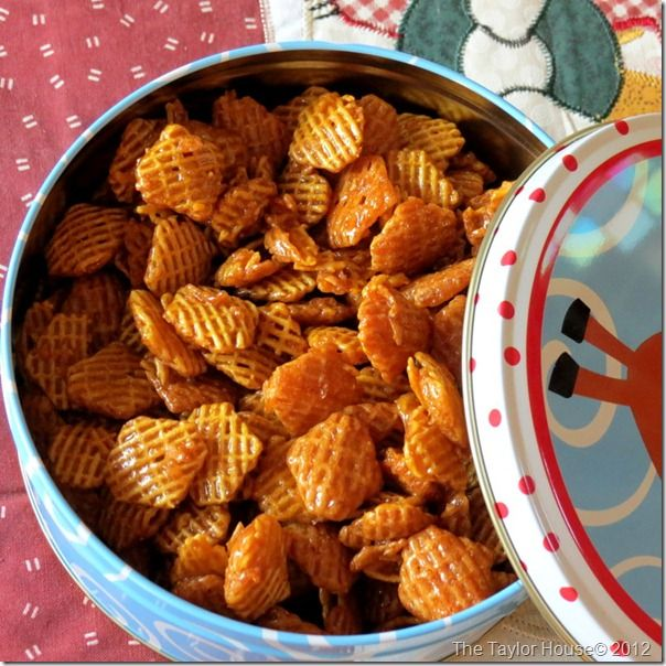 One the the absolute best treats that I have every made is this Caramel Crispix AKA Crispix Crack.  We only make it at the Holidays because it is so addictive and you cannot stop eating it!