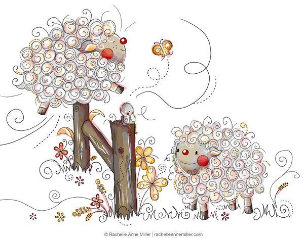 17 Mejores Ideas Sobre Dibujo Con Lineas En Pinterest: Las 25+ Mejores Ideas Sobre Ovejas Para Dibujar En