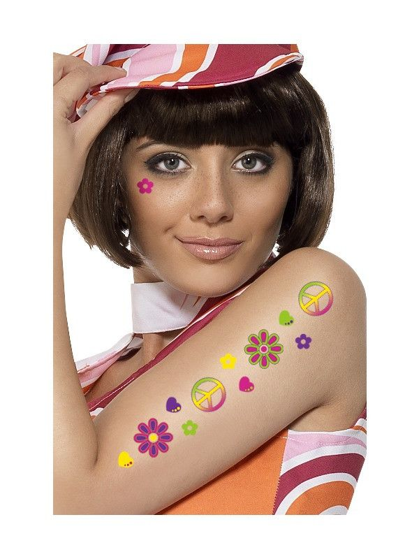 New 60s & 70s Fancy D... http://www.cosmetics4uonline.co.uk/products/60s-70s-fancy-dress-accessories-temporary-cnd-tattoos?utm_campaign=social_autopilot&utm_source=pin&utm_medium=pin #cosmetics #makeup #fancydress #fragrances #henparty #stagparty #lipsticks #mascara #beauty