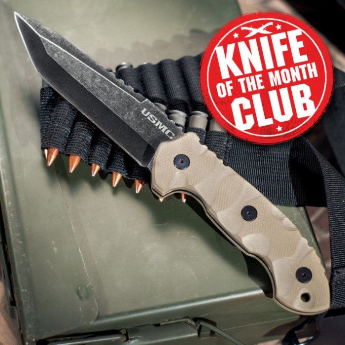 Knife Of The Month Club Monthly Subscription Budk Com Knives Swords At The Lowest Prices Knife Month Club Subscription Boxes For Men