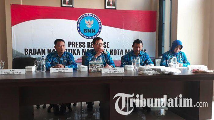 Angka Pecandu Narkotika di Kota Malang Alami Penurunan, Ganja Masih Jadi Favorit