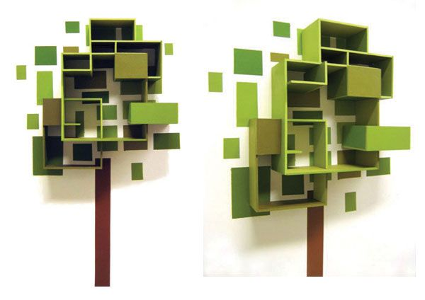 101 best geometric tree images on pinterest geometry for Shelf life of paint