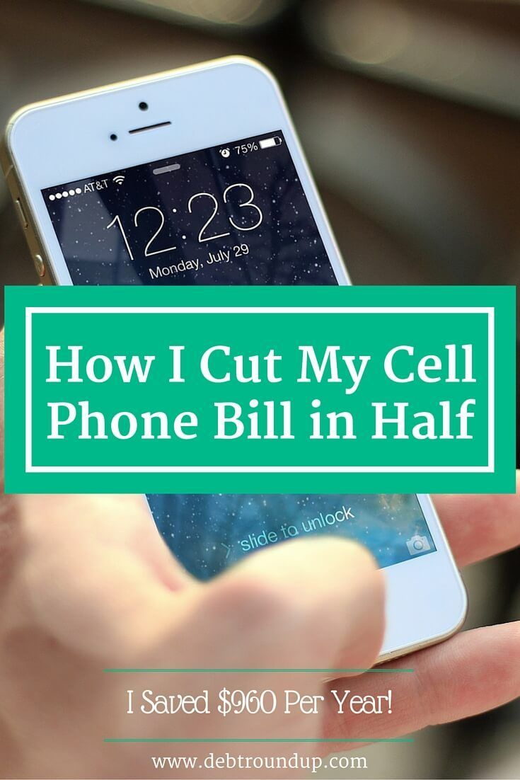 I love saving money and the easiest place to do it is with your cell phone. Here are the ways I cut my cell phone bill in half and saved nearly $1000 per year!